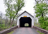 PA-CBSM-2016.5.11#563.2. The Sheards Mill Covered Bridge near the Levi Sheard Grist Mill spanning Tohickon Creek. This bridge was built in 1873 and is 131 feet long, making it one of the longest covered bridges in the county. Bucks County Pennsylvania