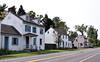 PA-WC49-2020.9.15#0728.1. Historic buildings formerly called Taylorsville. Washington Crossing Historic Park. Bucks County Pennsylvania.