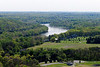 PA-WC8-2012.4.24#004.2. View from Bowman's Hill Tower. Washington Crossing Historic Park. Bucks County Pennsylvania.