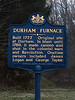 PA-D-2021.1.22#5410.1. Interpretive sign for the historic Durham Furnace. Bucks County Pennsylvania.