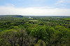 PA-WC11-2012.4.24#010.2. View from Bowman's Hill Tower. Washington Crossing Historic Park. Bucks County Pennsylvania.