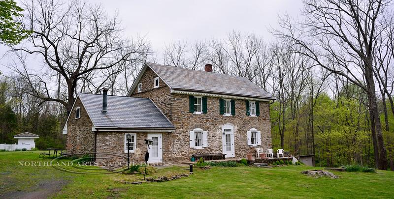 PA-2016.5.11#571-Stokes House c1740. Bucks County Pennsylvania.