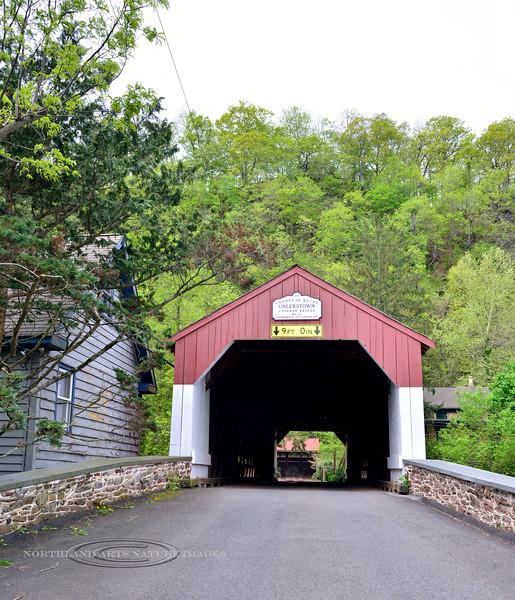PA-U-2016.5.11#582.2. Uhlerstown Covered Bridge. Bucks County Pennsylvania.