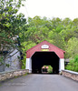 PA-U-2016.5.11#582.2. Uhlerstown Covered Bridge. Bucks County Pennsylvania.