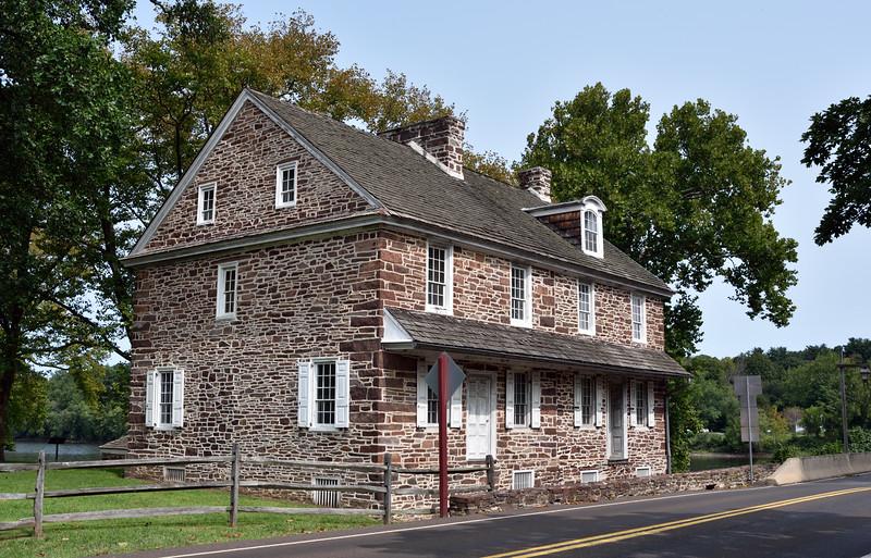 PA-WC43-2020.9.15#0724.1. McConkey's Ferry Inn. Washington Crossing Historic Park. Bucks County Pennsylvania.