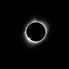 Diamond ring at totality