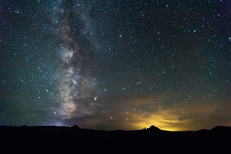 Milkyway and night skies, Oregon