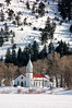 But the hour comes, and now is, when the true worshipers shall worship the Father in spirit and in truth: for the Father seeks such to worship him.<br /> <br /> John 4:23<br /> <br /> St. Francis Episcopal Church in South Fork, Colorado