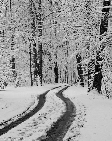Efland in Winter by Andy Cox