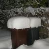 Heftiger Schneefall von 15. auf 16.11.2007