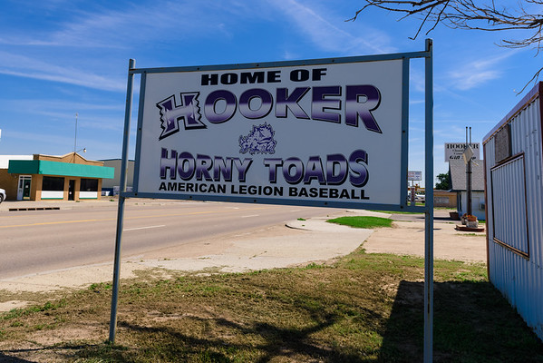 Home of the Horny Toads, Hooker OK, (4 June