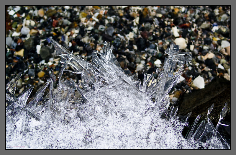 Crystals <br /> Shore at Mjelle, Nordland