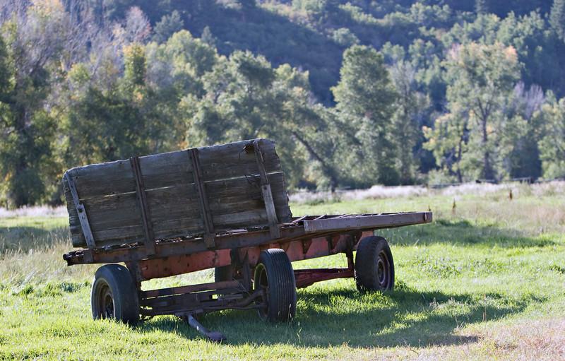 S-S Ranch Hay Wagon