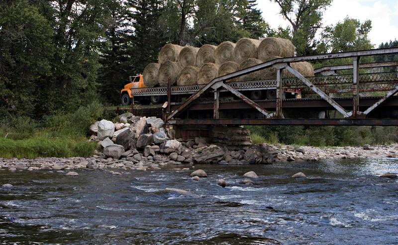 S-S Ranch Hay Truck
