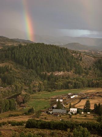 Rainbow over S-S Ranch