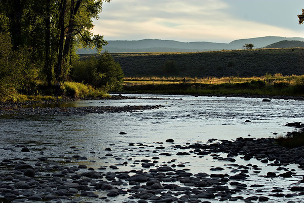 S-S Ranch Elk River Sunset
