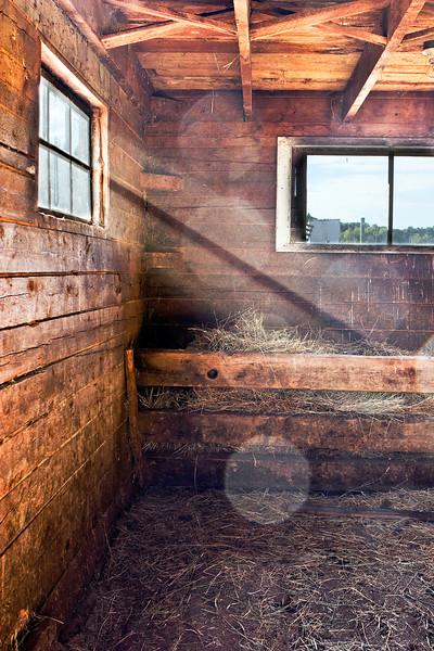S-S Ranch Barn Interior #1