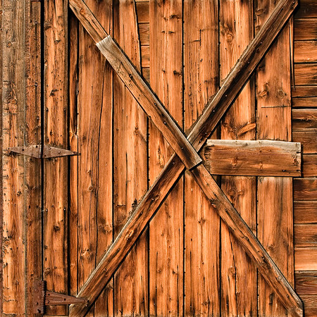 Hutchen's Ranch Barn Door #1