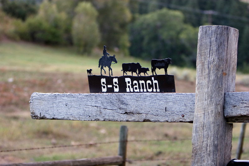 S-S Ranch Sign