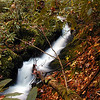 Panther Creek Sidewinder is a 14 ft tall very picturesque waterfall along the Panther Creek Trail.