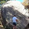 Preparing For A Climb <br /> Gabe atop, Rusty below