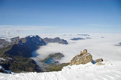 Engelberg Glacier in Summer