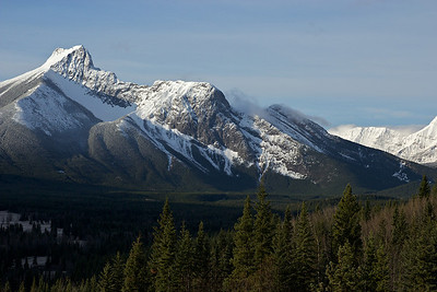 The Wedge, from Kananaskis village