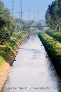 wastewater canal with the sewage of millions of people - oberhausen, germany - adobe RGB