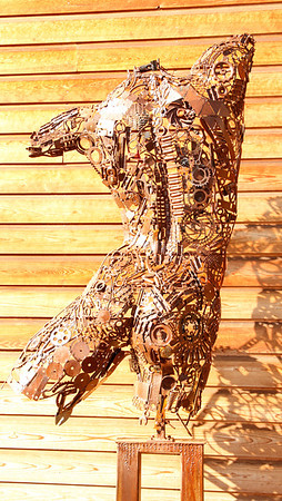 "metal sculpture ""Daniel"""