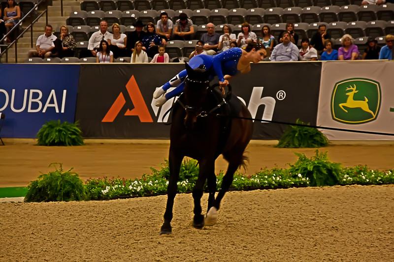 Megan Benjamin - Vaulting - World Equestrian Games 2010