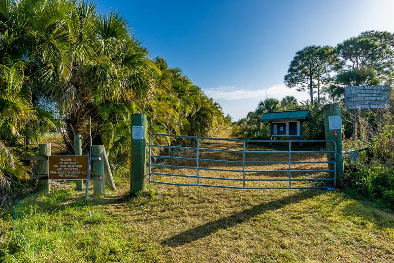 Estero Bay Preserve - Winkler Entrance