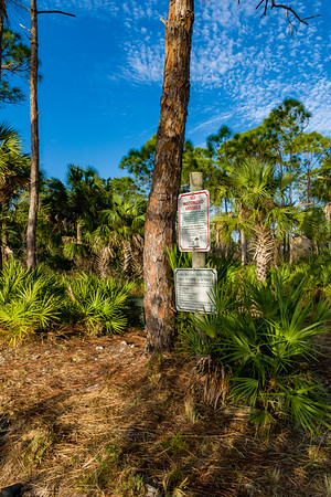 Estero Bay Preserve - Broadway Entrance
