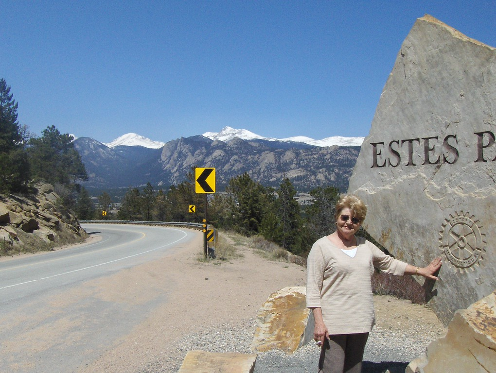 2008 - view from Estes Park area - GMA's first drive in the mountains