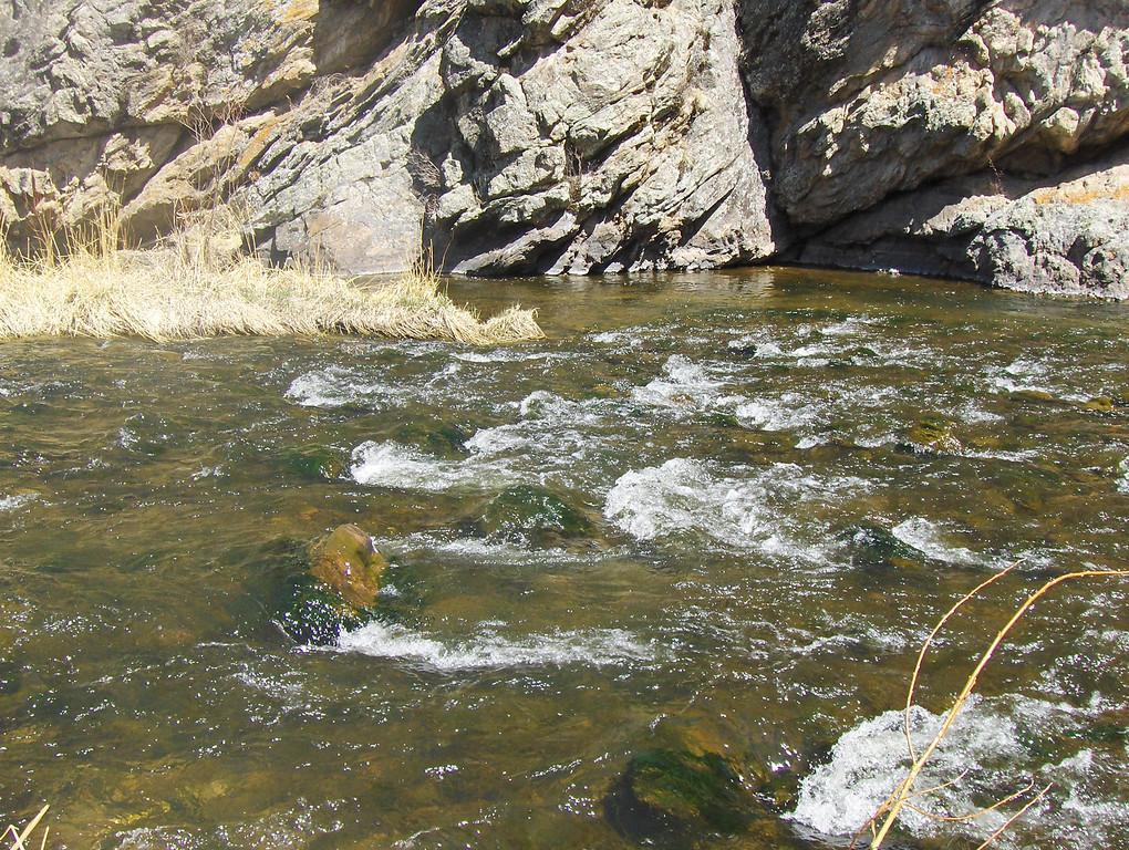 2008 - view from Estes Park area - Big Thompson River views