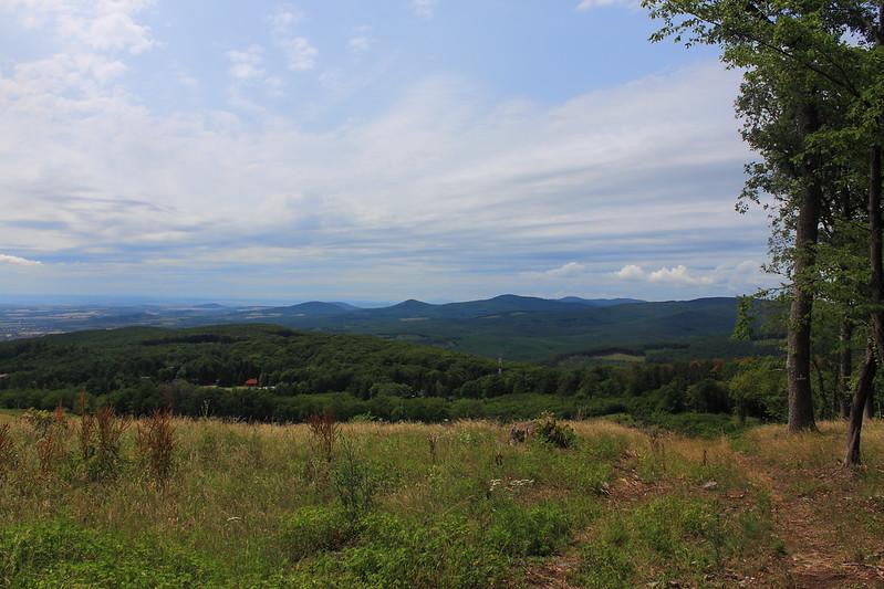 Southern View over Mátraháza — Déli kilátás Mátraházára