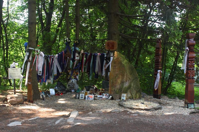 Memorial of All Deceised Motorbikers — Minden elhunyt motoros emlékhelye