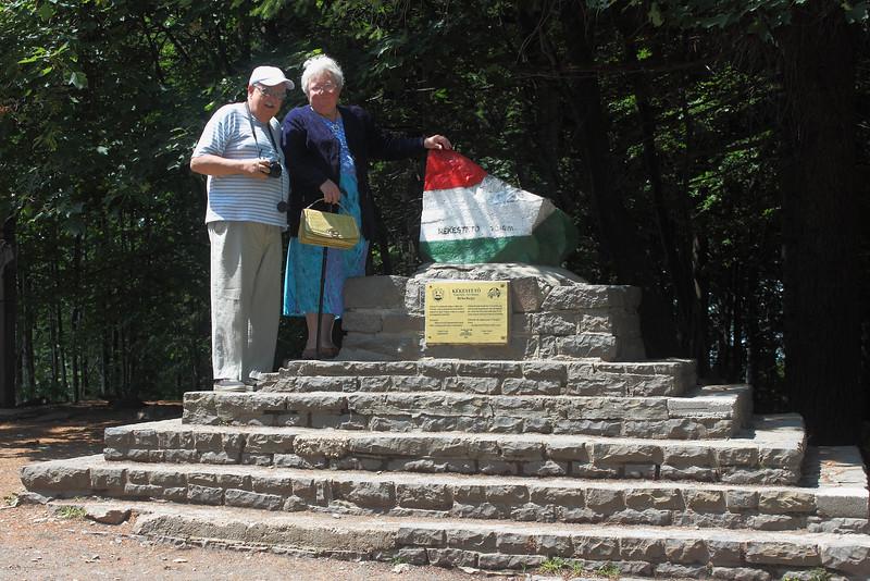 My Parents at the Top of Hungary (3,080' asl) — Szüleim az Ország Tetején (tszf 1024 m)
