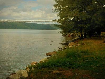 Riverbank, Fort Washington Park, NYC  iPhoneography