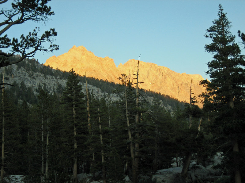 Sunset in Colby Meadow