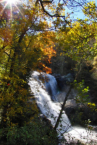 Bald River Falls, in Cherohala Skyway area, part of Tellico River