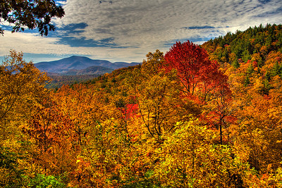North Carolina mountains, south of Franklin, NC