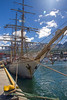 Europa tall ship, Ushuaia harbor