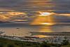 Ushuaia harbor sunrise
