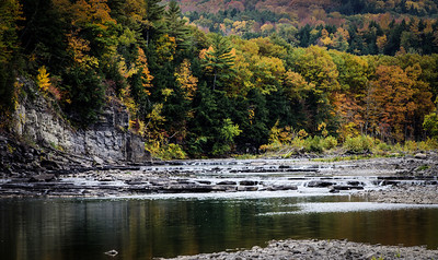 Schoharie Creek at Burtonsville, NY.