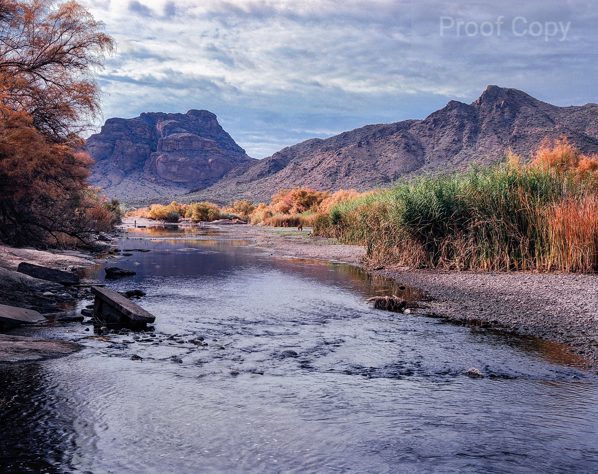 Salt River and Red Mountain
