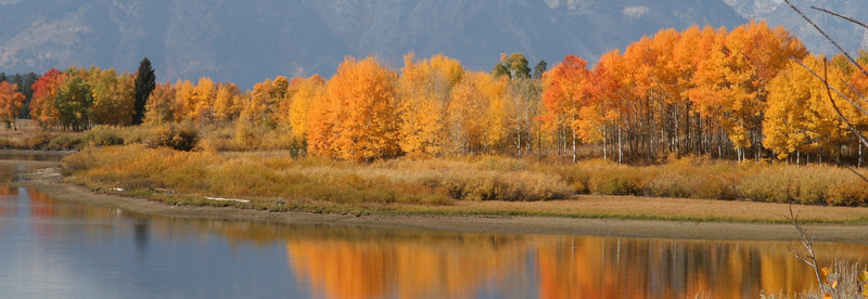 "Oxbow, Snake River, Teton National Park<br /> ""Autumn, Snake River"""