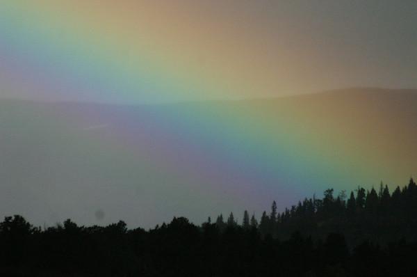 Rainbow over Indian Peaks, Colorado