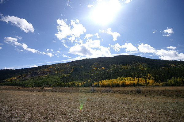 Road to Moffat Tunnel - Fall colors