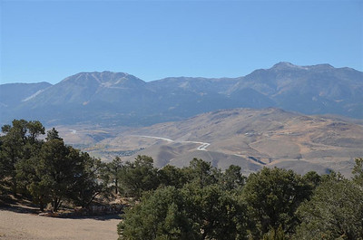 I 480 from the view area on the way to Virginia City - October 18, 2013