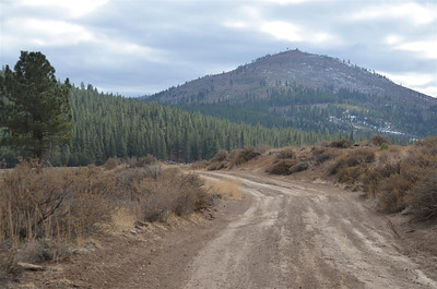 Beacon Point from Forest Service Road 31010 - November 2, 2013